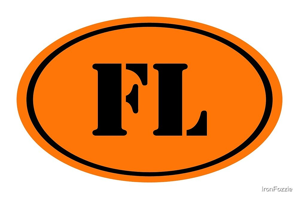 FL Oval Logo by IronFozzie