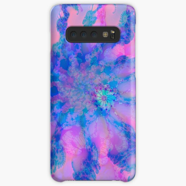 Fractalize storm clouds of flower petals Samsung Galaxy Snap Case