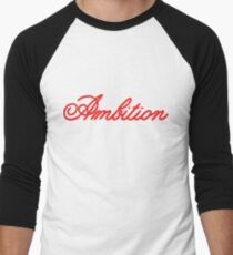 Ambition Men's Baseball ¾ T-Shirt