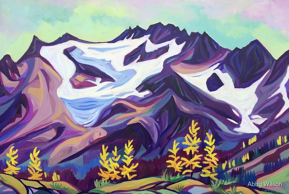 Glacier View Peak by Abby Wilson