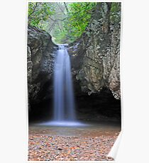 Blue Hole Falls Poster