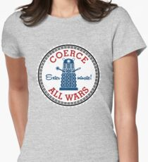 Coerce All Wars (dirty) Womens Fitted T-Shirt