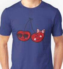 Boy & Girl Cute Cheeky Cherries T-Shirt