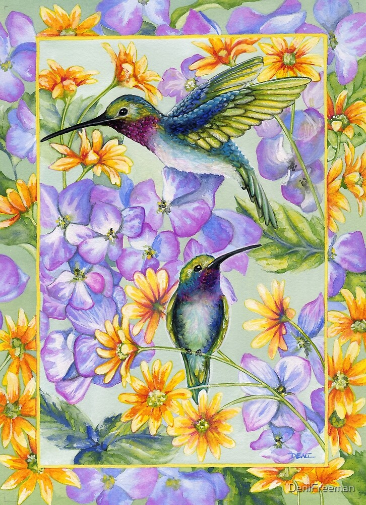 Hummingbird Duo by DeniFreeman