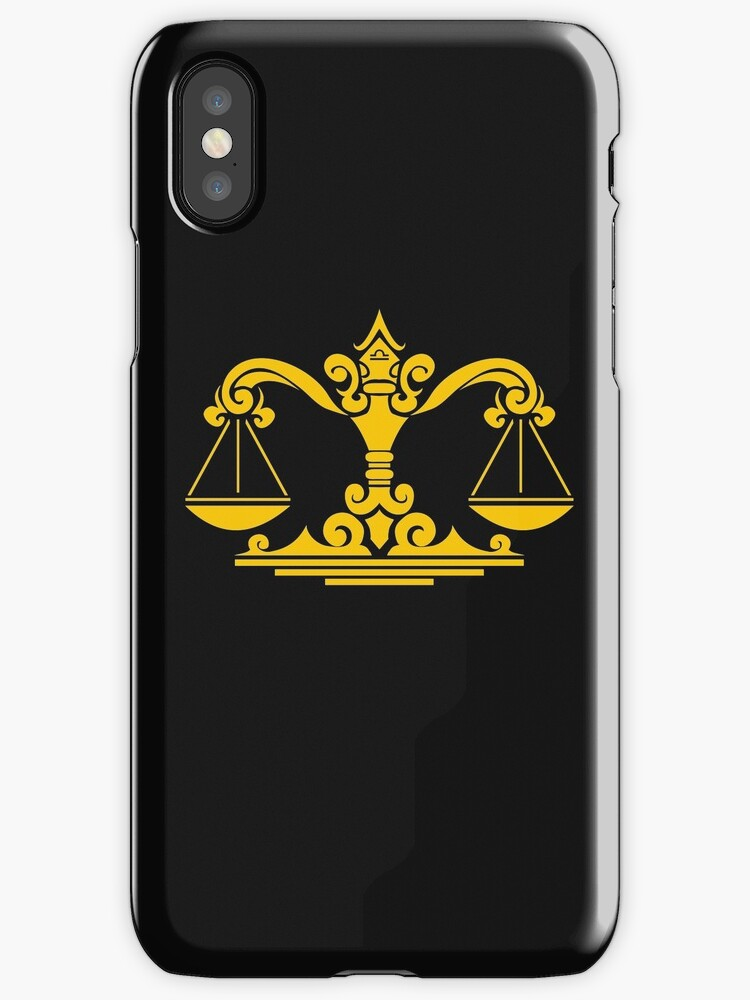 Zodiac Sign Libra Gold Iphone Cases Covers By Elangkarosingo