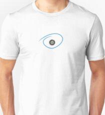 Spyhole Peephole Door Viewer peek keyhole control freak shy T-Shirt