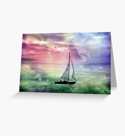Fantasy Sailing © Greeting Card