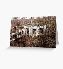 Building in Pripyat Greeting Card