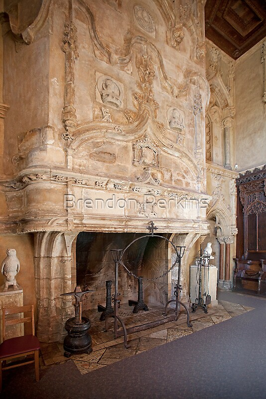 Quot Grand Fireplace Hearst Castle Quot By Brendon Perkins