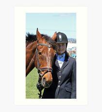 My Pony Calendar 2011 - Royal Hobart Show - Pic 1 Art Print