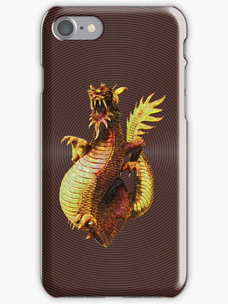 Dragon on your iPhone by DAdeSimone