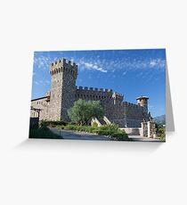 Castello di Amorosa, Napa Valley, California Greeting Card