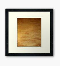 The Shroud of the River Pueblo Mesa Framed Print
