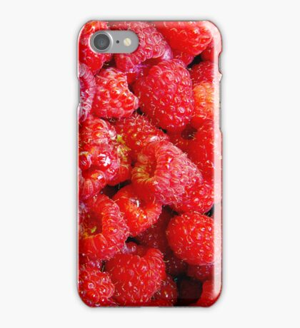 RED RASPBERRIES - IPHONE CASE iPhone Case/Skin