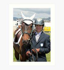 My Pony Calendar 2011 - Royal Hobart Show Tasmania - No 7 Art Print