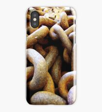 RUSTY CHAIN - IPHONE CASE iPhone Case/Skin
