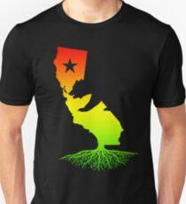 California Roots (rasta surfer colors) Unisex T-Shirt
