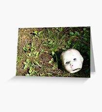 Losing Your Head Greeting Card