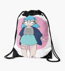 Not Cute Drawstring Bag