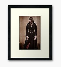 Amanda Tapping - Actors Studio Limited Edition Series Print [A10] Framed Print