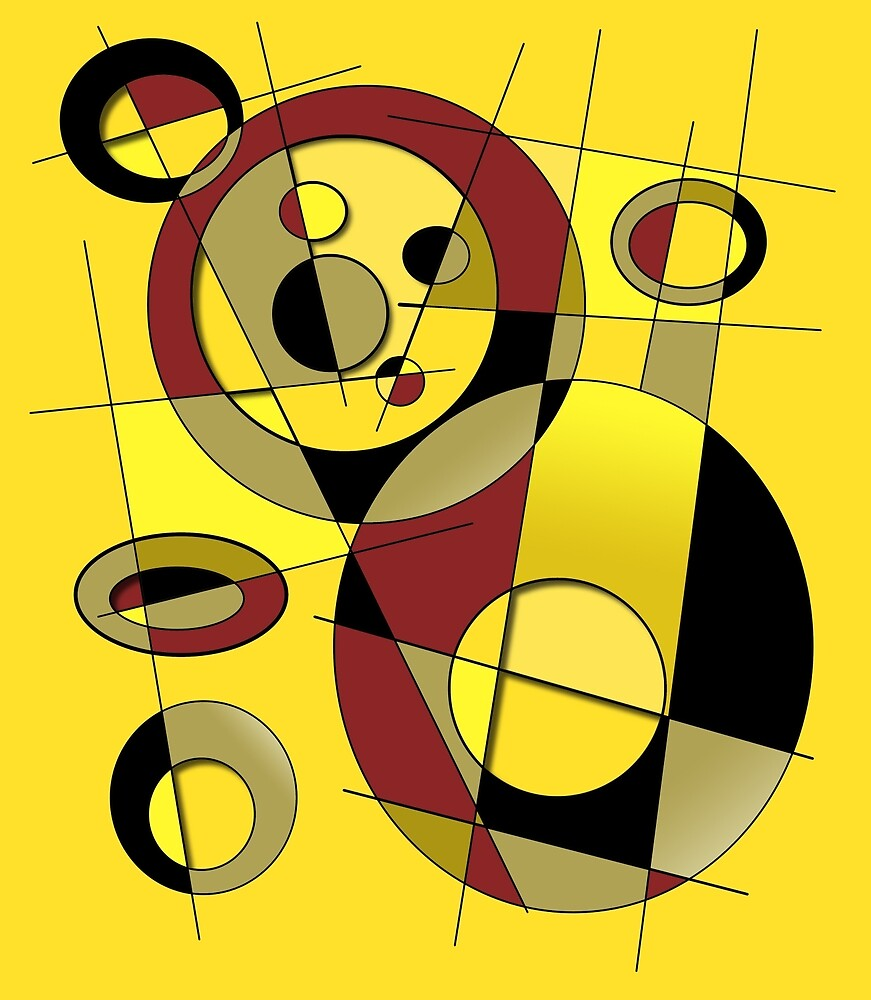 Abstract #45 by Rockett Graphics