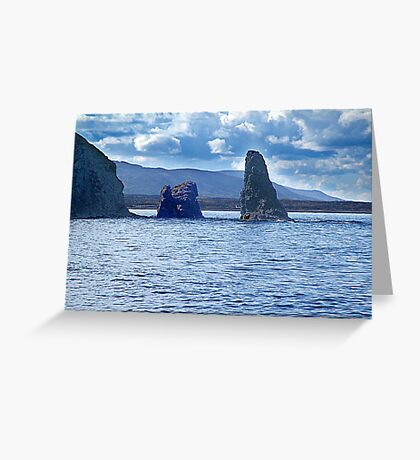 Old Scot Rock Greeting Card