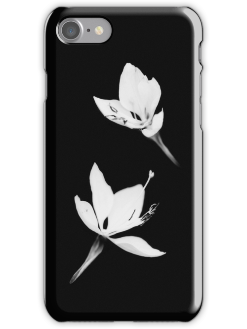 White|Black [iPhone / iPod Case] by Damienne Bingham