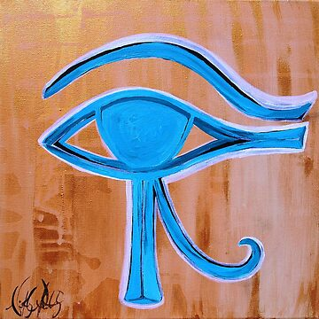 Eye of Horus by whittyart