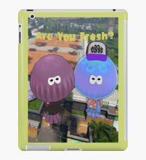 Are You Fresh? With Words. iPad Case/Skin