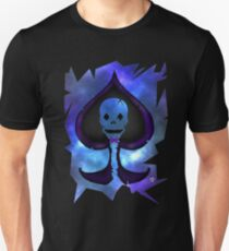 Lost In Galaxy; Spade Skull T-Shirt