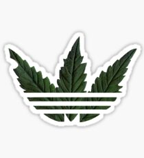 Marihuana logo Sticker