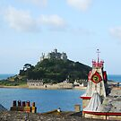 St Michael's Mount, Marazion, Cornwall by Groenendevil