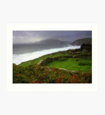 The Irish Coast Art Print