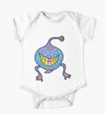 Mrs. Blob Cartoon Blue Monster Kids Clothes