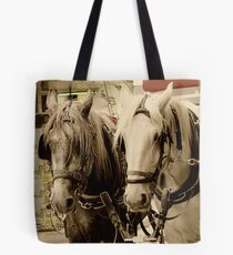 Horses Two Tote Bag