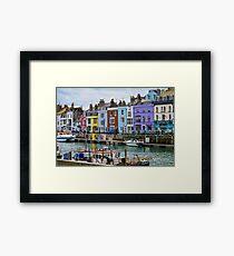 Weymouth Harbour, Dorset, UK Framed Print