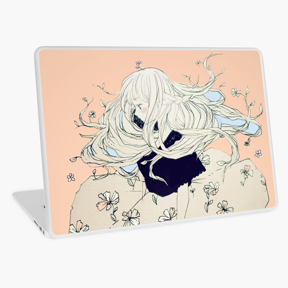 sprouting thoughts. Laptop Skin