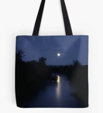 I Have The Blues ~ Full Moon ~ Tote Bag