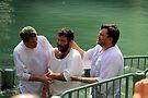 Baptised in the Jordan river #9 by Moshe Cohen