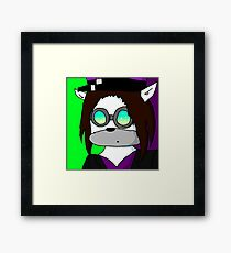 me in Pyrovision goggles Framed Print