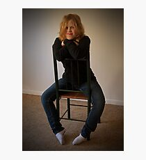Kelly 2  Venus in Bluejeans  Photographic Print