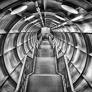 Through the Atomium - Brussels  by PhotosbyM