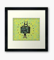 Holy Tv Framed Print