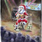 """Santas """"Day Job"""" Christmas Card! by Michael Puckett"""