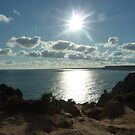 Algarve sun by Meladana