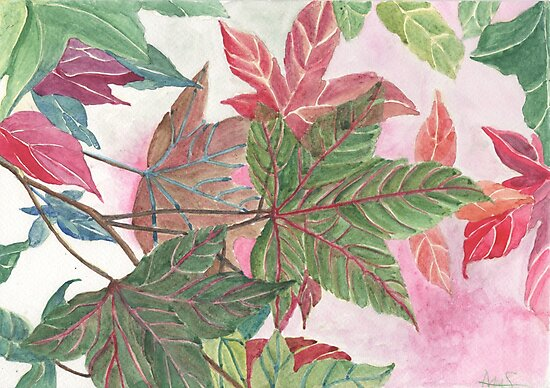 LEAVES by acquart