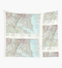 USGS Topo Map District of Columbia DC Washington 257791 1957 250000 Wall Tapestry