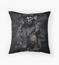 Losing your head Throw Pillow
