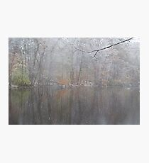 Fall meets Winter Photographic Print