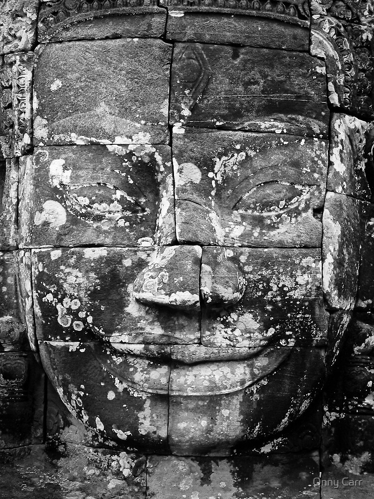 Angkor Wat Smile by Onny Carr